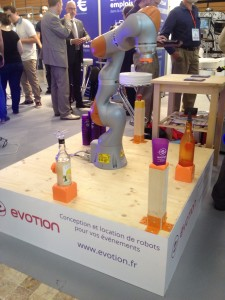 Le robot bar d'Evotion